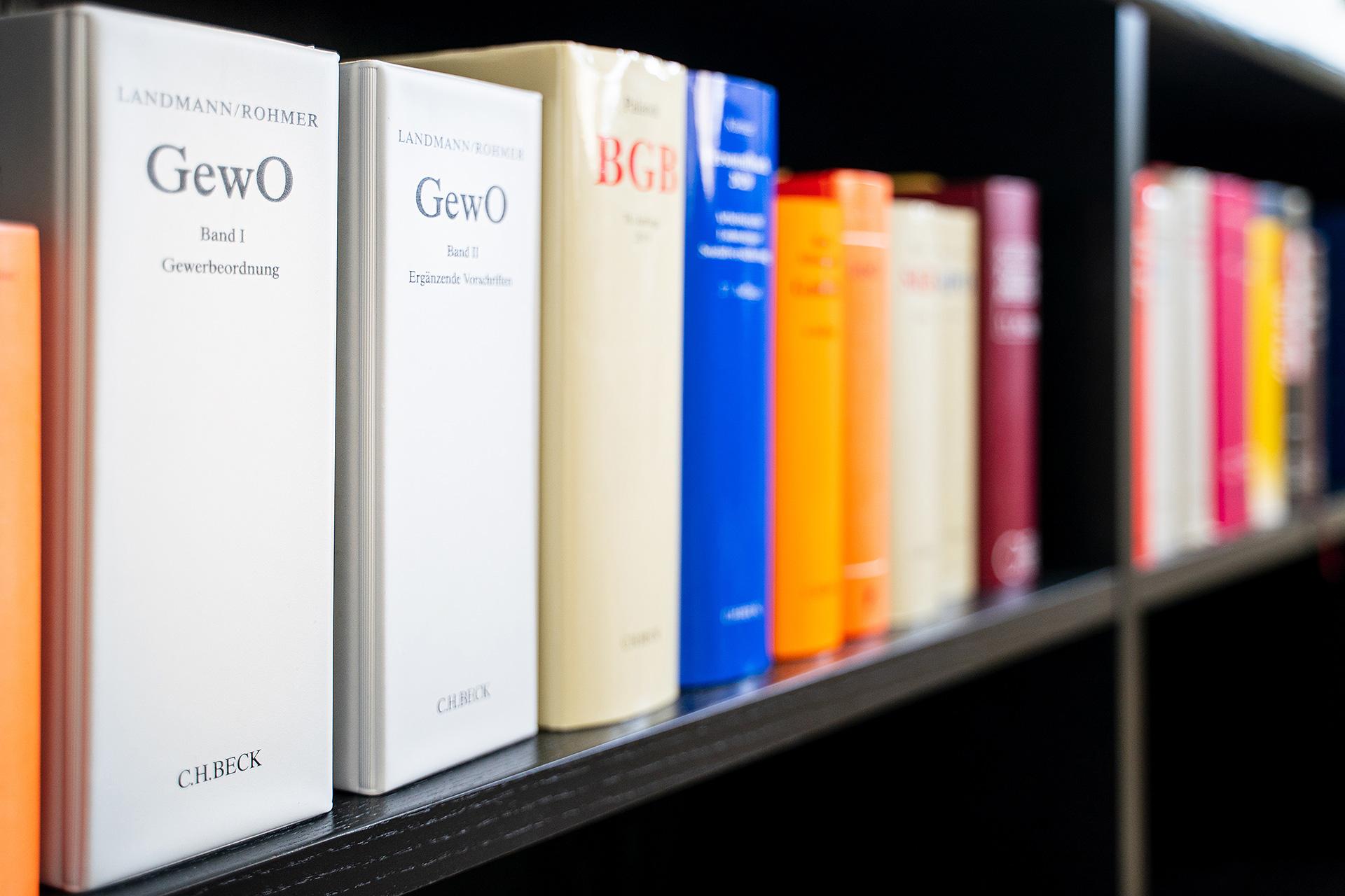 Wir beraten und betreuen in folgenden Rechtsgebieten